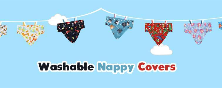 Washable nappy covers are back in stock with new designs!