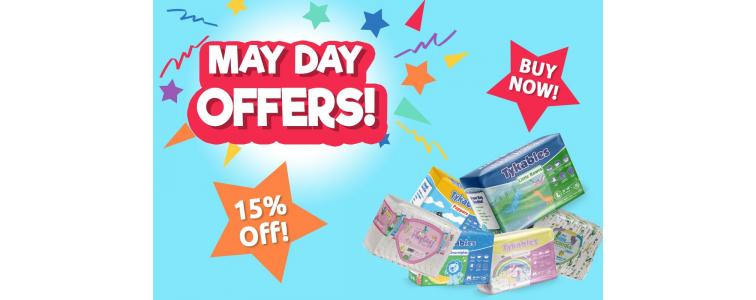 It's a Bank Holiday weekend so bring on the OFFERS and THICK nappies!