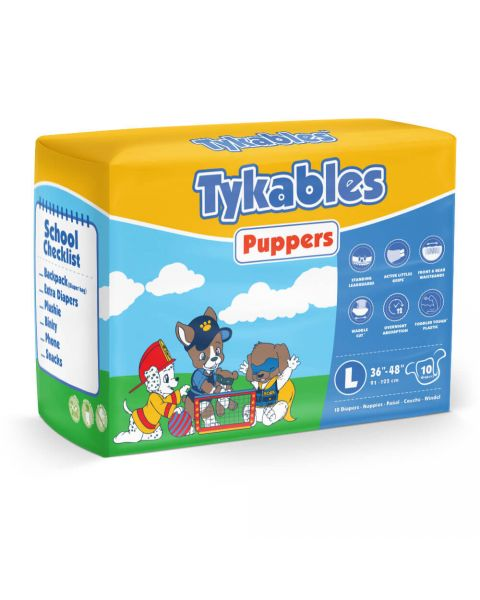 Tykables Puppers - Large - Pack of 10