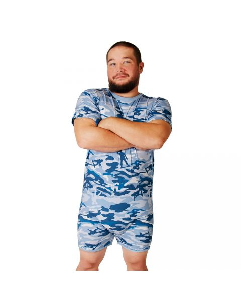 Tykables - Snappies Cammies Romper