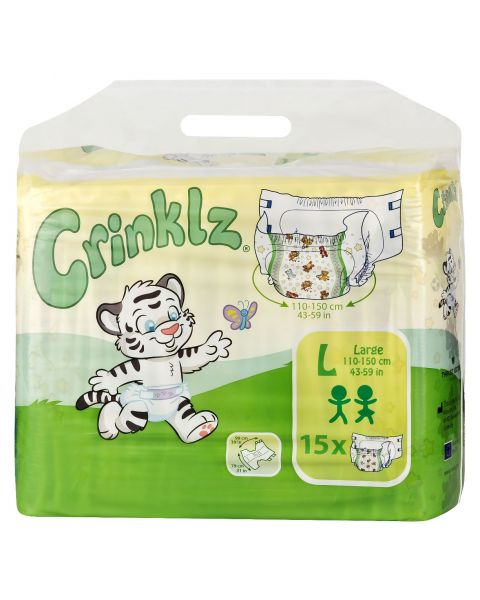 Crinklz - Large - Pack of 15