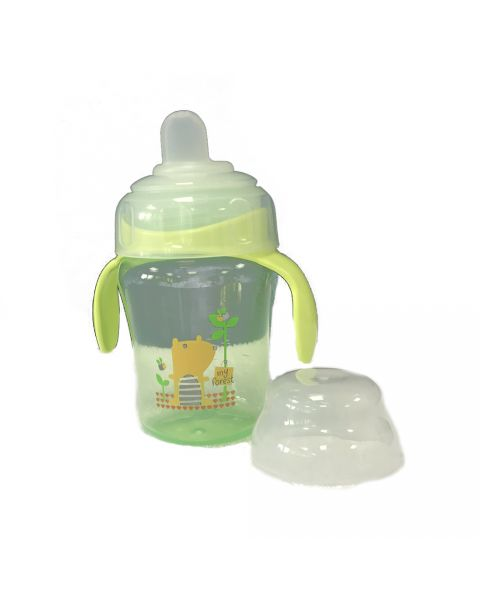 Sippy Cup Small With Handles - Green