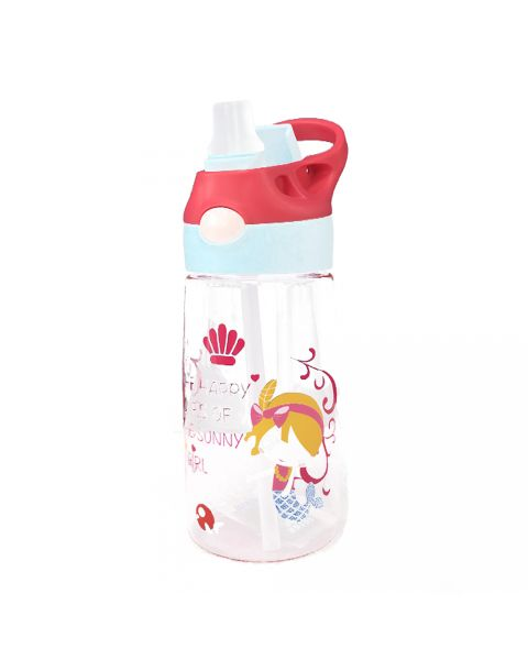 Juice Bottle Push to Open Straw - Little Sunshine Mermaid
