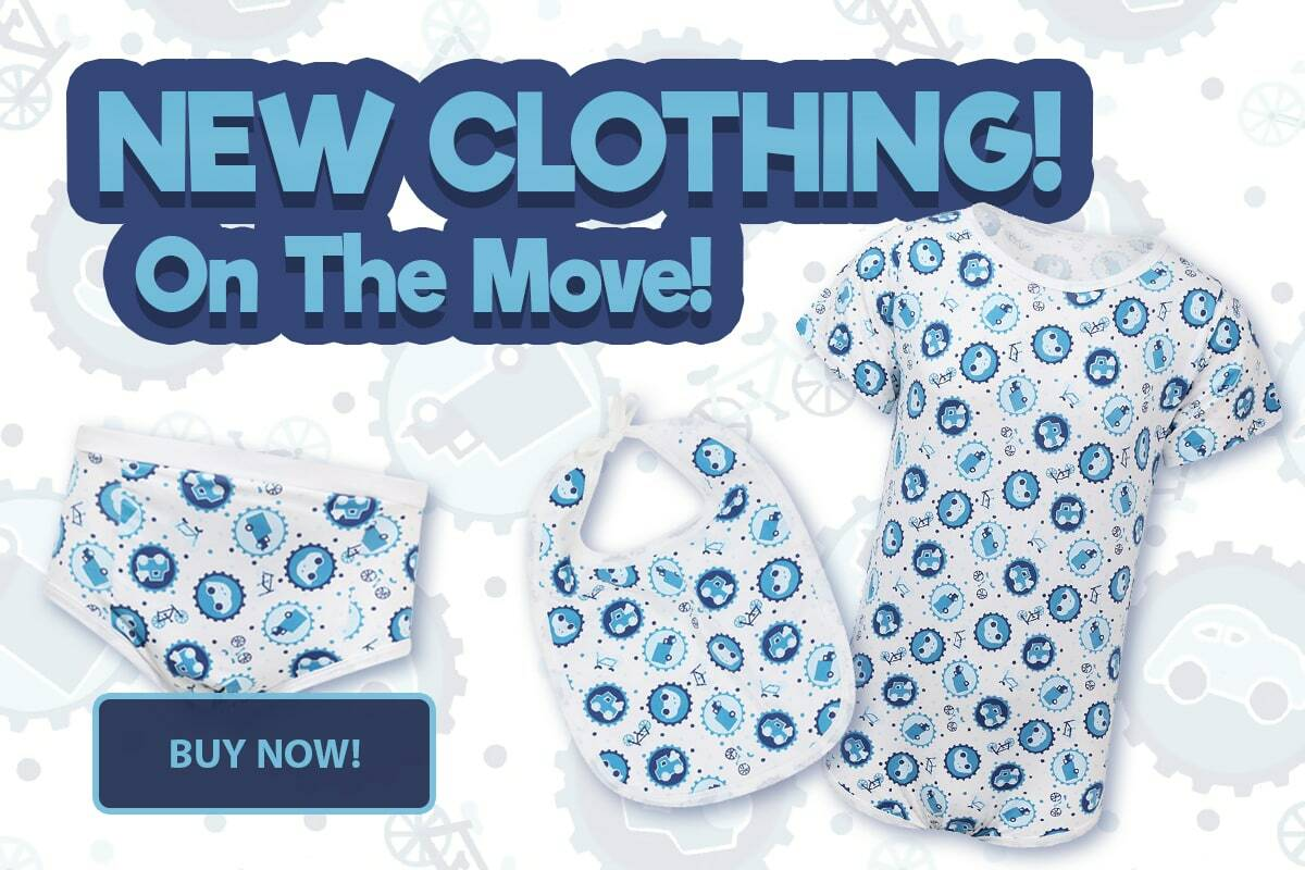 New Clothing - On The Move - Now Available!