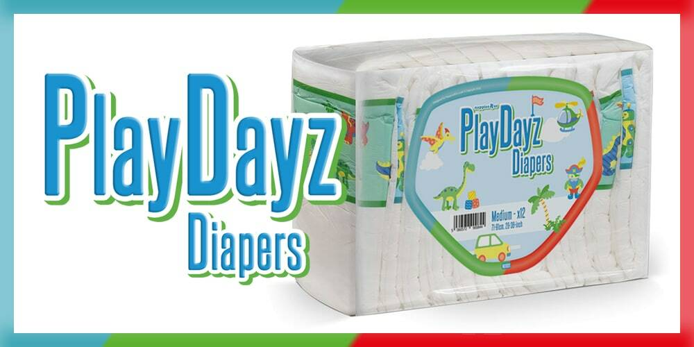 GetNappied PlayDayz Blue (Breathable)