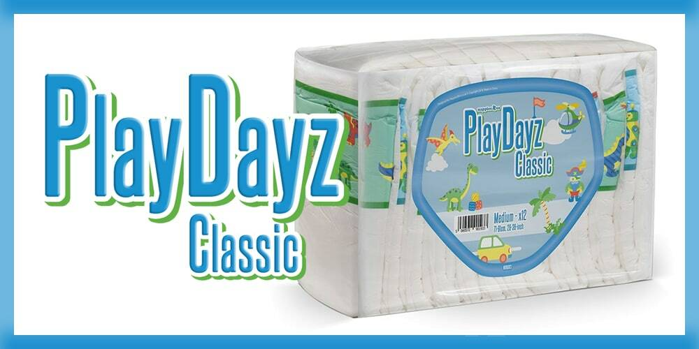 GetNappied PlayDayz Classic Blue (PE Backed)