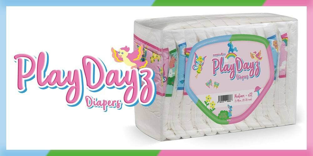GetNappied PlayDayz Pink (Breathable)