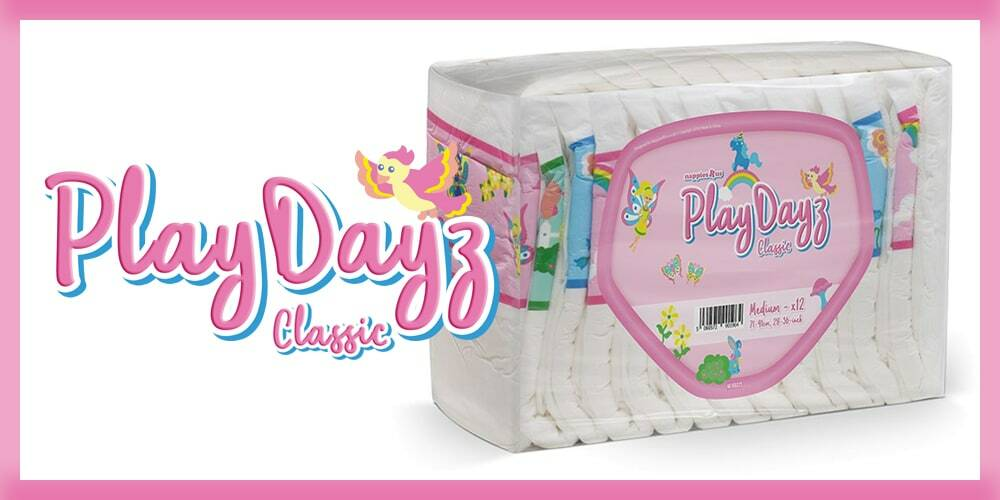 GetNappied PlayDayz Classic Pink (PE Backed)