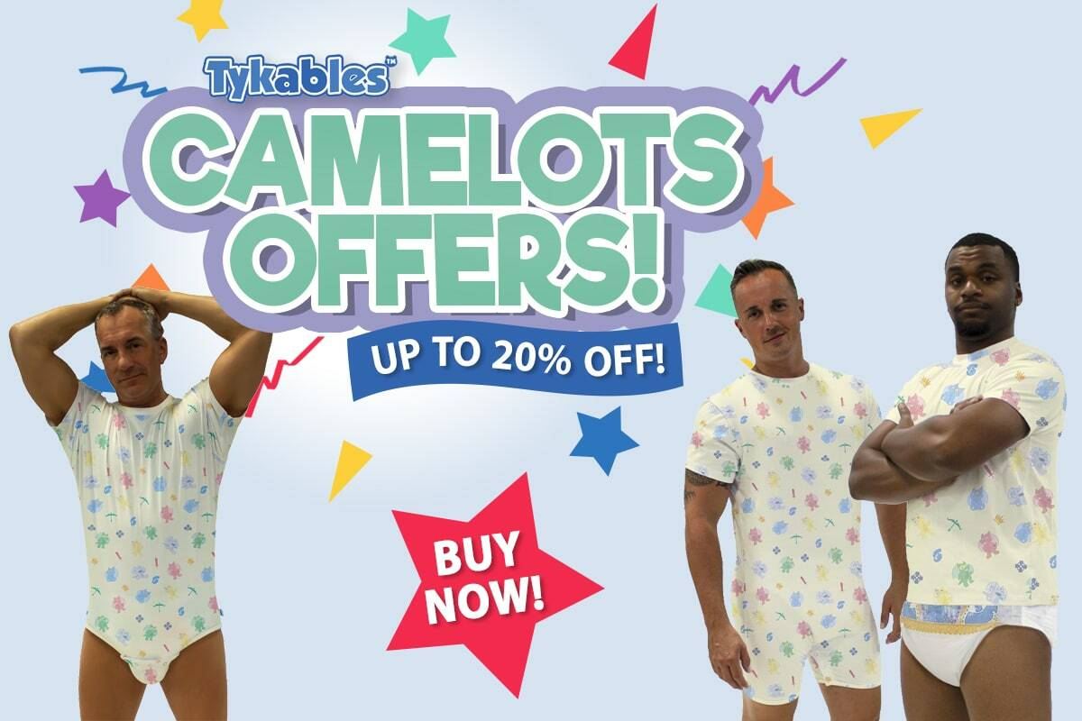 Tykables Camelots - Up to 20% Off!
