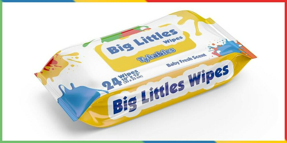 Tykables Big Littles Wipes