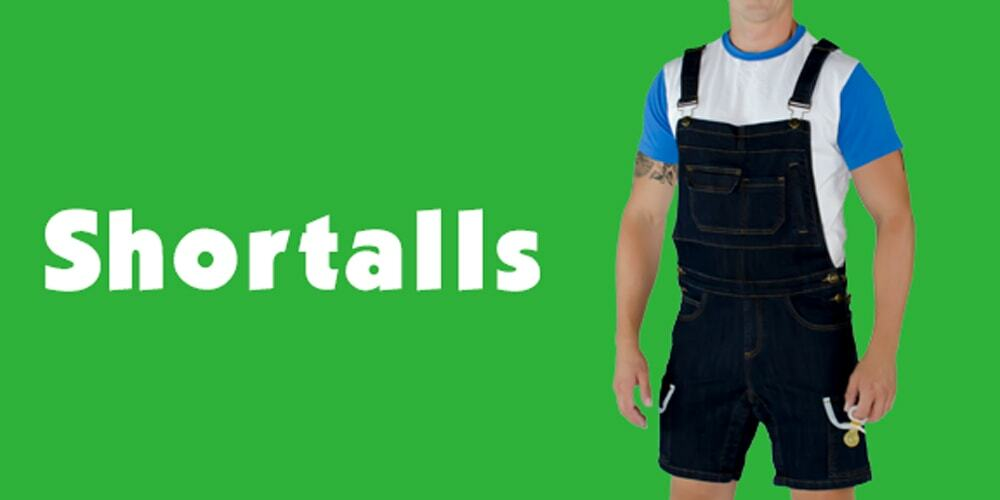 Tykables Denim Shortalls