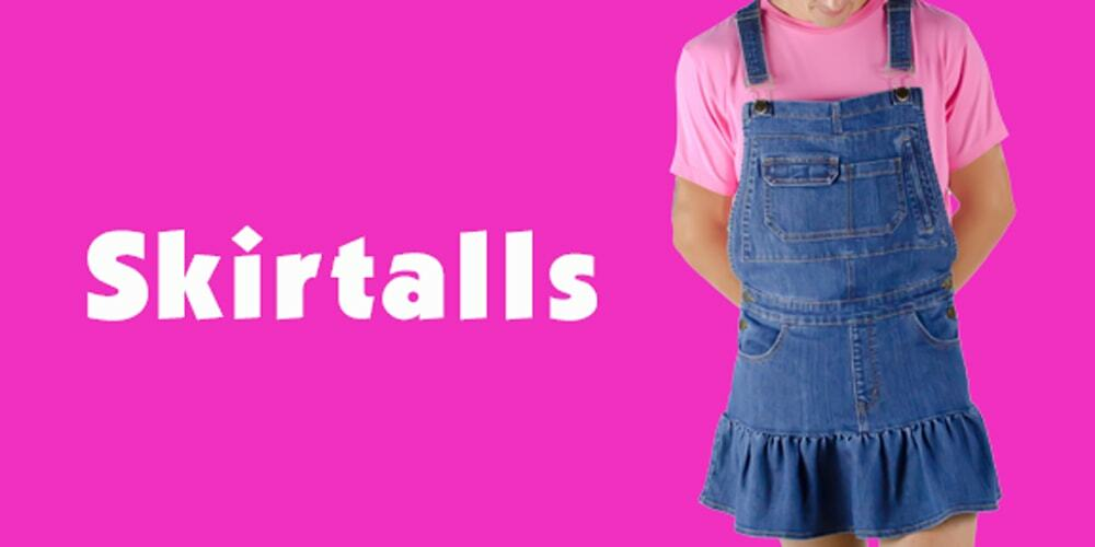 Tykables Denim Skirtalls